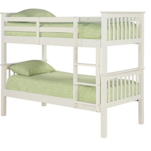 AXE BB 60 Wooden (White )Bunk bed 006